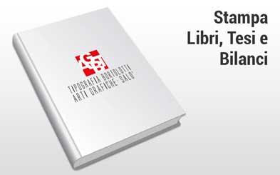 Stampa libri tesi e bilanci - Tipografia Bortolotti