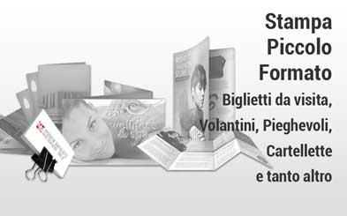 Stampa piccolo formato online - Tipografia Bortolotti