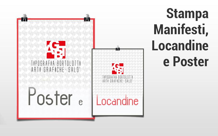 Stampa locandine, poster e manifesti pubblicitari