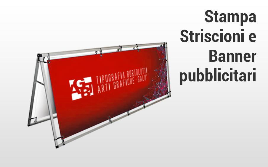 Stampa striscioni e banner pubblicitari