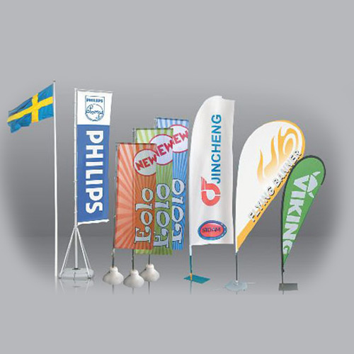 Stampa bandiere pubblicitarie