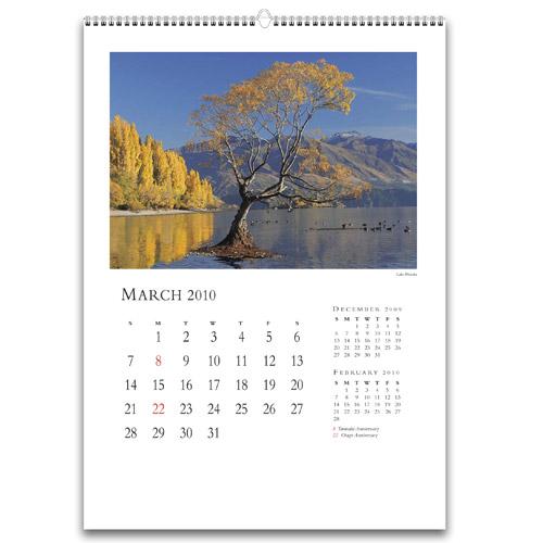 Stampa Calendari da muro con spirale metallica