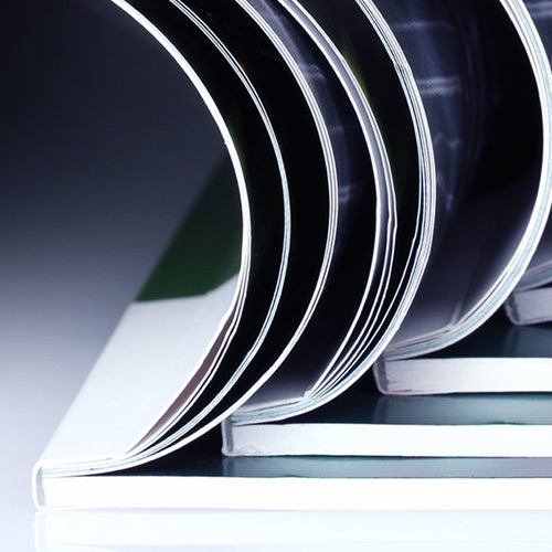 Stampa Cataloghi, riviste e brochure - rilegatura a brossura fresata