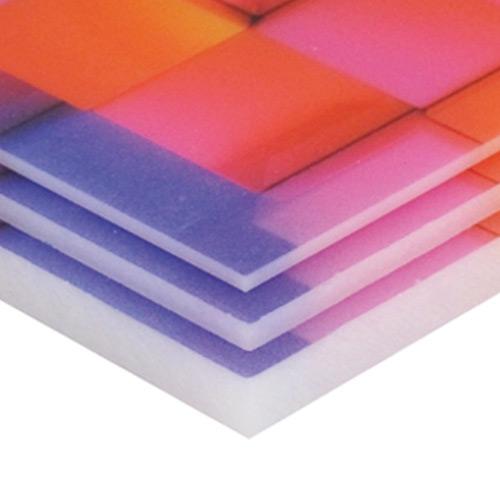Stampa supporti rigidi plexiglass opalino